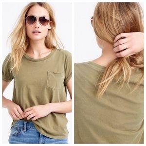 J. Crew Garment-dyed Pocket T-shirt